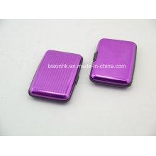 Bunte Aluminium Bank Card Case / Kreditkarte Fall