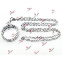 De alta qualidade em aço inoxidável Cadeia Locket conjuntos de presentes de Natal (LCC60104)