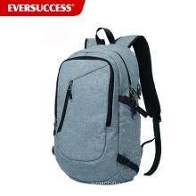 Тонкий рюкзак для ноутбука 19 дюймов бизнес-водонепроницаемые ноутбук рюкзак с USB порт зарядки
