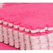 venda quente 2015 promocional macio do luxuoso tapete, comida 100% grau material EVA revestimento esteira
