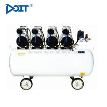 DT 800H-90 silencioso máquina de compresor de aire sin aceite