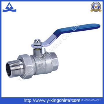 Кованый латунный шаровой кран с соединением, используемым в воде (YD-1003)