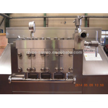 large flow capacity homogenizer, 8000L/h flow, max 400bar pressure