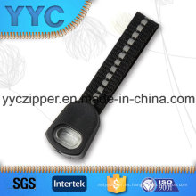 Diseño personalizado de calidad tejida tirantes Zip Zip para la ropa