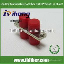 FC Carcasa de metal de adaptador de fibra óptica dúplex