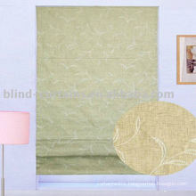 Jacquard 100%polyester roman blind