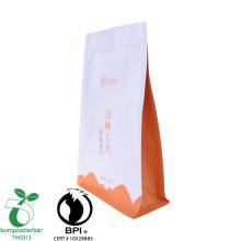 Fábrica de malas biodegradáveis de fundo plano renovável
