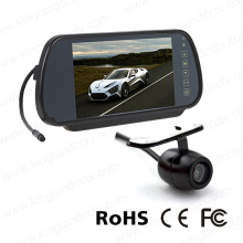 7inches Rear View Safety Mirror System with Mirror Monitor