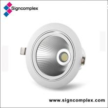 5W 7W 9W COB com Epistar Chip LED Downlight