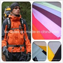 228t Taslon de nylon maçante com repelente de água para tecido de jaqueta
