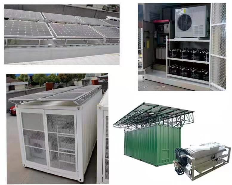 solar powered container cold storage