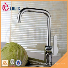 Chrome Commercial water ridge kitchen faucet mixer