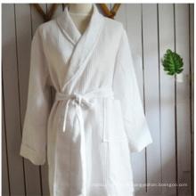 Baumwolle Velour Bademantel für Hotel Pyjamas Nachthemd (DPF10146)