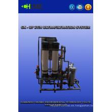 Equipo de tratamiento de agua de venta caliente con sistema de agua UF