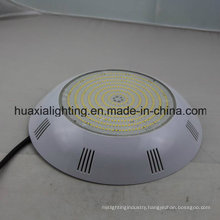 12V LED Pool Light 35W Color Change Mounted on Flat Surface Without Niche
