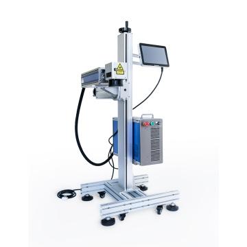 Impression laser sur machine en métal
