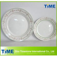Keramik Teller mit Druck
