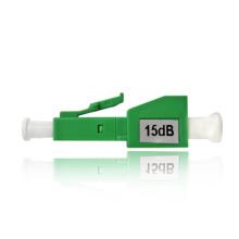1db 10db atenuador de fibra fêmea macho 15db, atenuador óptico lc upc para LAN