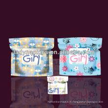 Les serviettes hygiéniques de Sweet Girl's