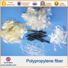 Monofilamento alto da fibra dos PP do polipropileno da tenacidade / malha / torcido / onda para o concreto