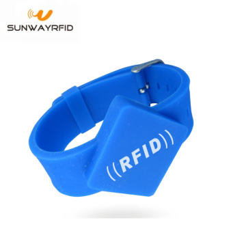 Braccialetto RFID Mifare Ultralight C con chip in silicone