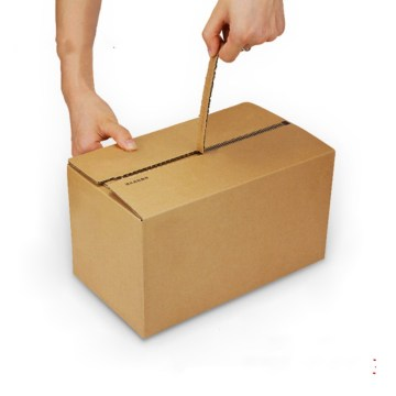 Cardboard Box With  Zipper