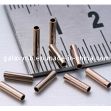 Micro tube capillaire cuivre exempt d'oxygène