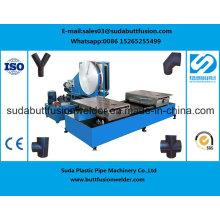 * 315mm / 630mm Cotovelo Tee Cruz HDPE Acessórios de Tubo Extremidade Máquina de Solda de Fusão