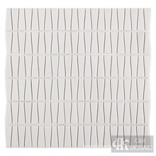 Grey glass wall tile