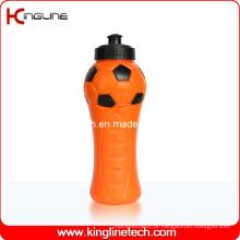 Garrafa de água de plástico, garrafa de água desportiva plástica, garrafa de bebida de plástico de 600 ml (KL-6648)