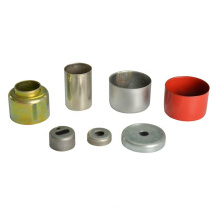 customized sheet metal stainless steel small deep drawing steel end caps