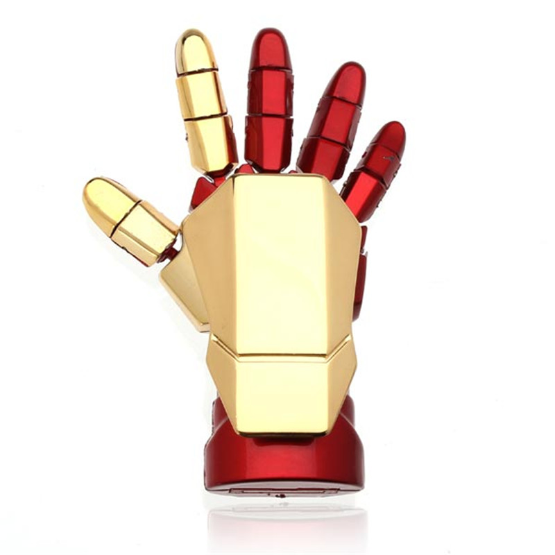 Iron Man Palm-LED Usb Flash Drive