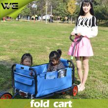 Carro utilitario plegable portátil al aire libre del carro de la mano con las ruedas