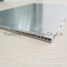 PVDF Nano Anti Dirty Fire Rated 4mm Corrugated Core Sandwich Panel Aluminum Composite Core Panel