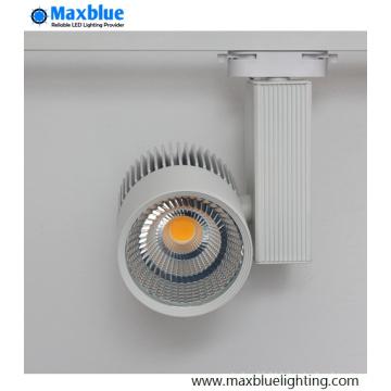 30W COB LED Light Track pour magasin / magasin Éclairage