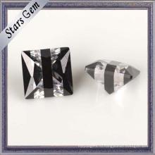 5мм квадратной формы Мульти Цвет CZ драгоценный камень для ювелирных изделий