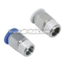 APC Straight Male Adaptor Push-in Fittings