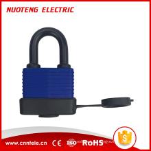 LPC01 Rundstahl-Gummiabdeckung Vorhängeschloss,Stahl laminiert Lockout