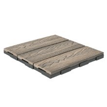 Anti-Fade Authentic Wood Appearance and Hand-Feel Barefoot Friendly Floor Deck Tile