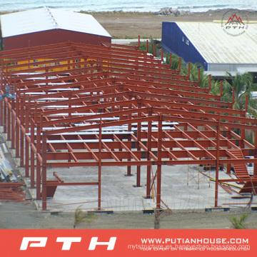 Almacén económico prefabricado de la estructura de acero económico con la instalación fácil