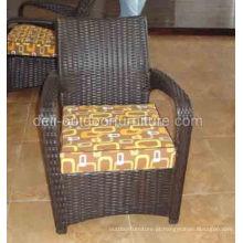 PE moderna ao ar livre do Rattan cadeira Frame de alumínio