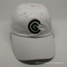Оптовые вышивки дизайн 6 панель белый бейсболка