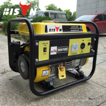 BISON (CHINA) TaiZhou OHV 1.5kv Calificado Portable 1.5kw Electric 220v Mini Generador Portátil