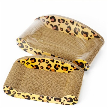 Chaise longue shaped cat scratcher