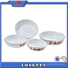 Обогатить Вашу хорошую жизнь эмалированную посуду и тарелки комплект