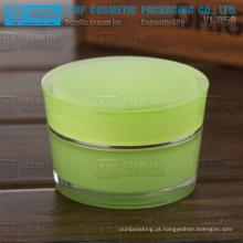 YJ-R50 50g cor personalizável preço competitivo recomendado especial alto brilho 50g acrílico jar