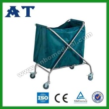 Sewage collection trolley