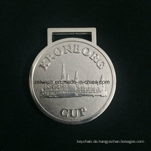 Benutzerdefinierte Znic Legierung Medaille für Kronborg Cup Entlastung schöne Medaille