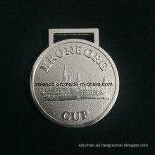 Medalla de la aleación de Znic personalizado para Kronborg Copa descarga hermosa medalla