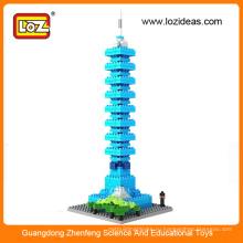 Воспитательные пазлы, игрушки Taipei 101